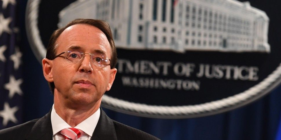 US Deputy Attorney General Den...