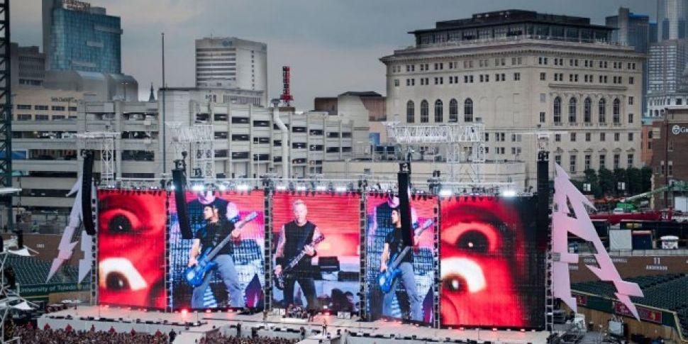 Metallica To Play Slane Next J...