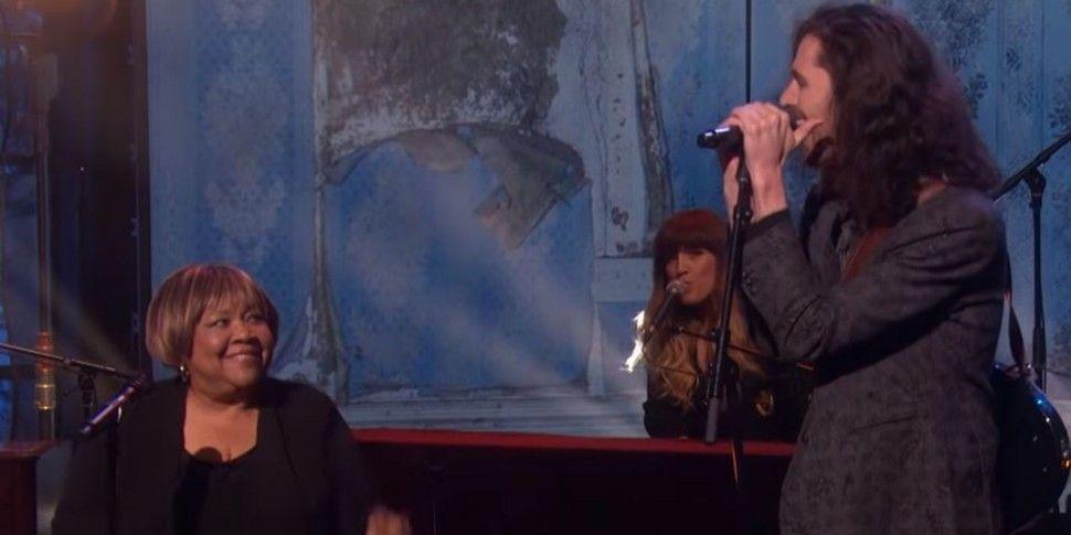 Hozier & Mavis Staples On Elle...