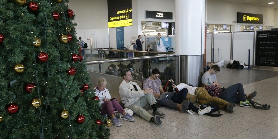 Gatwick Airport Remains Closed...