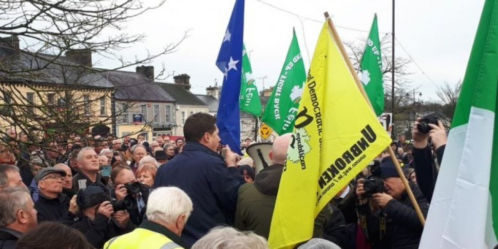 Roscommon Eviction Protest Cal...