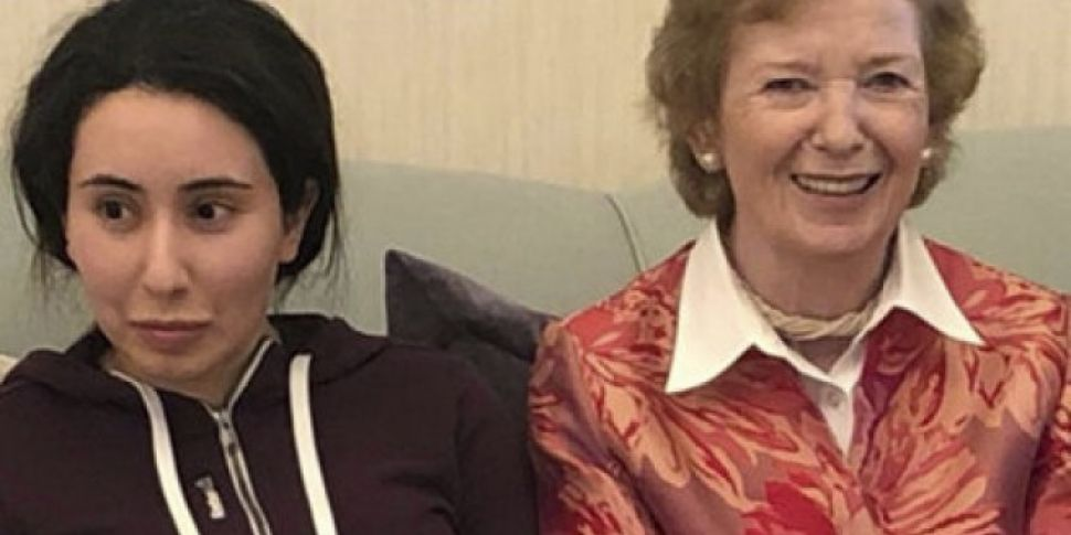 Mary Robinson Under Fire For P...
