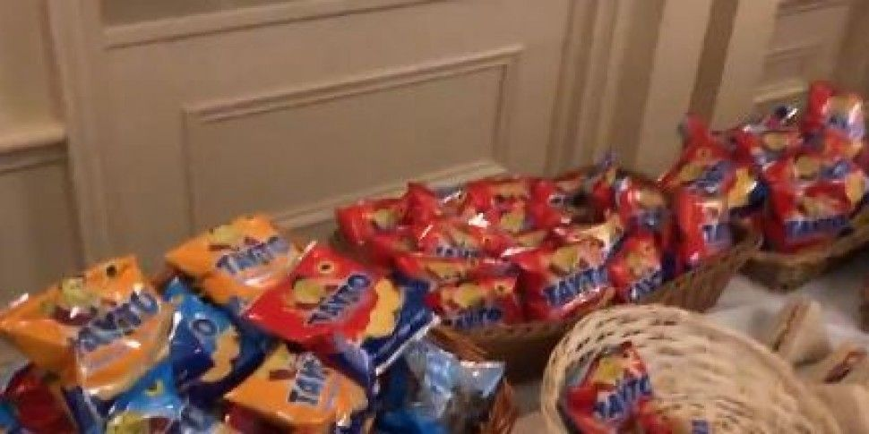 There Was A Tayto Buffet At Th...
