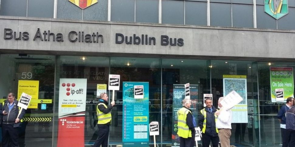 Commuter chaos in Dublin